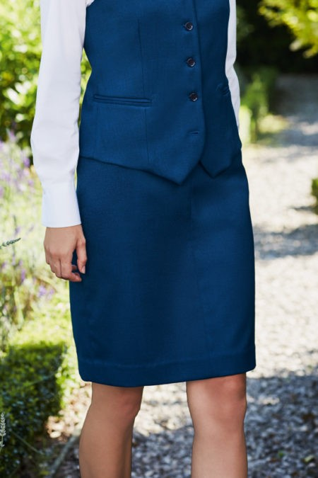 sukně dámská modrá