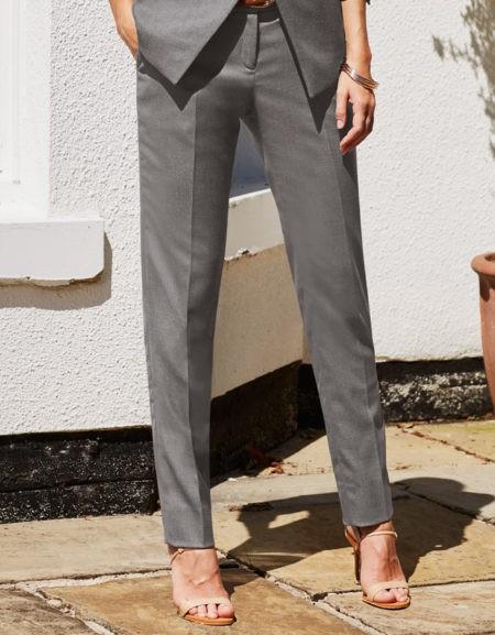 kalhoty dámské šedé
