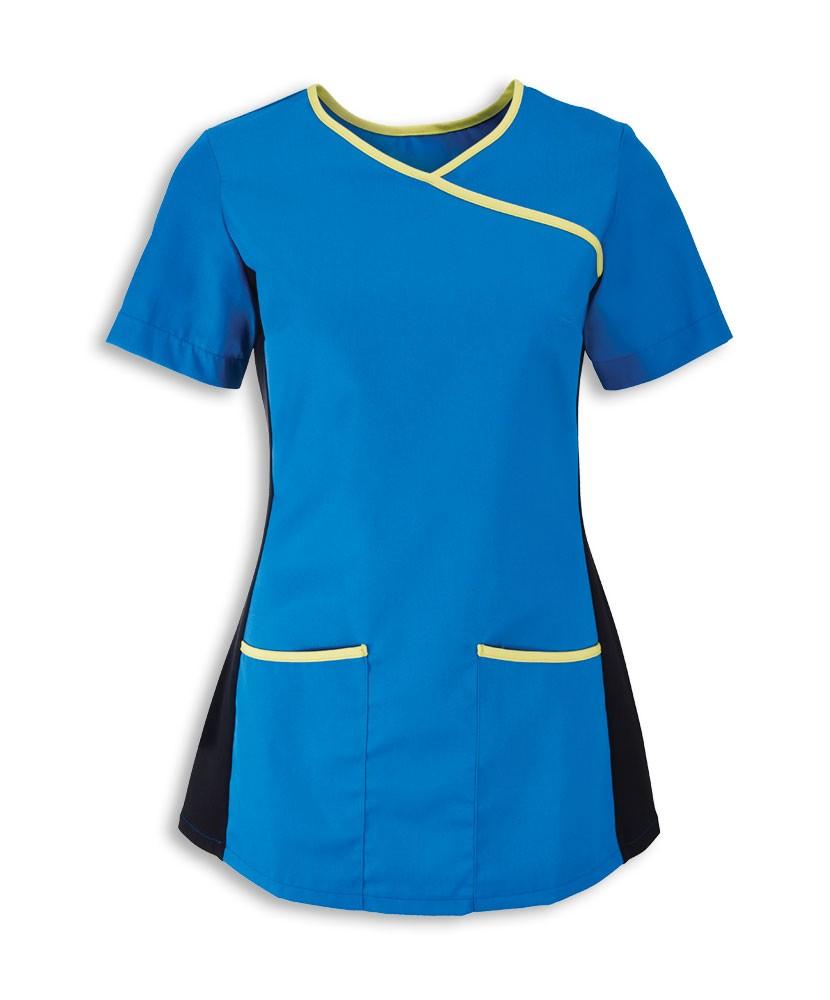 Tunika dámská modrá / limetková
