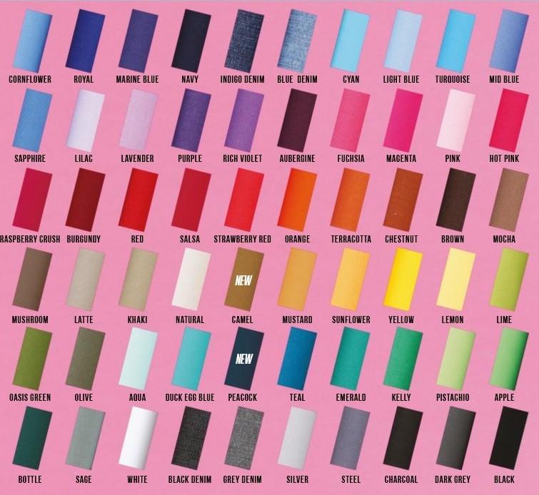 pracovní zástěry s laclem barvy