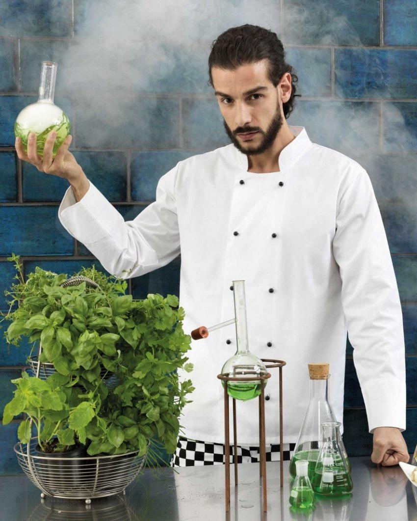 kuchařský rondon bílý