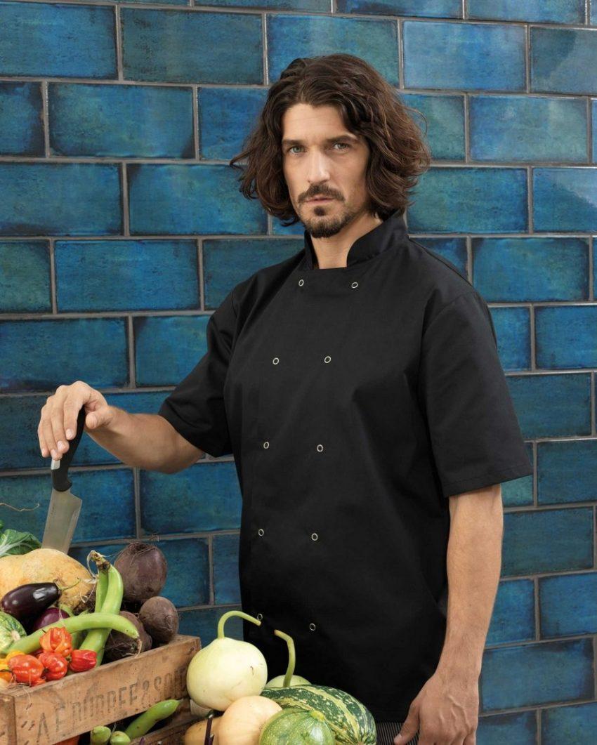 pracovní rondon kuchař černý