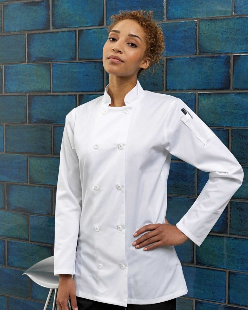 rondon kuchařský dámský bílý