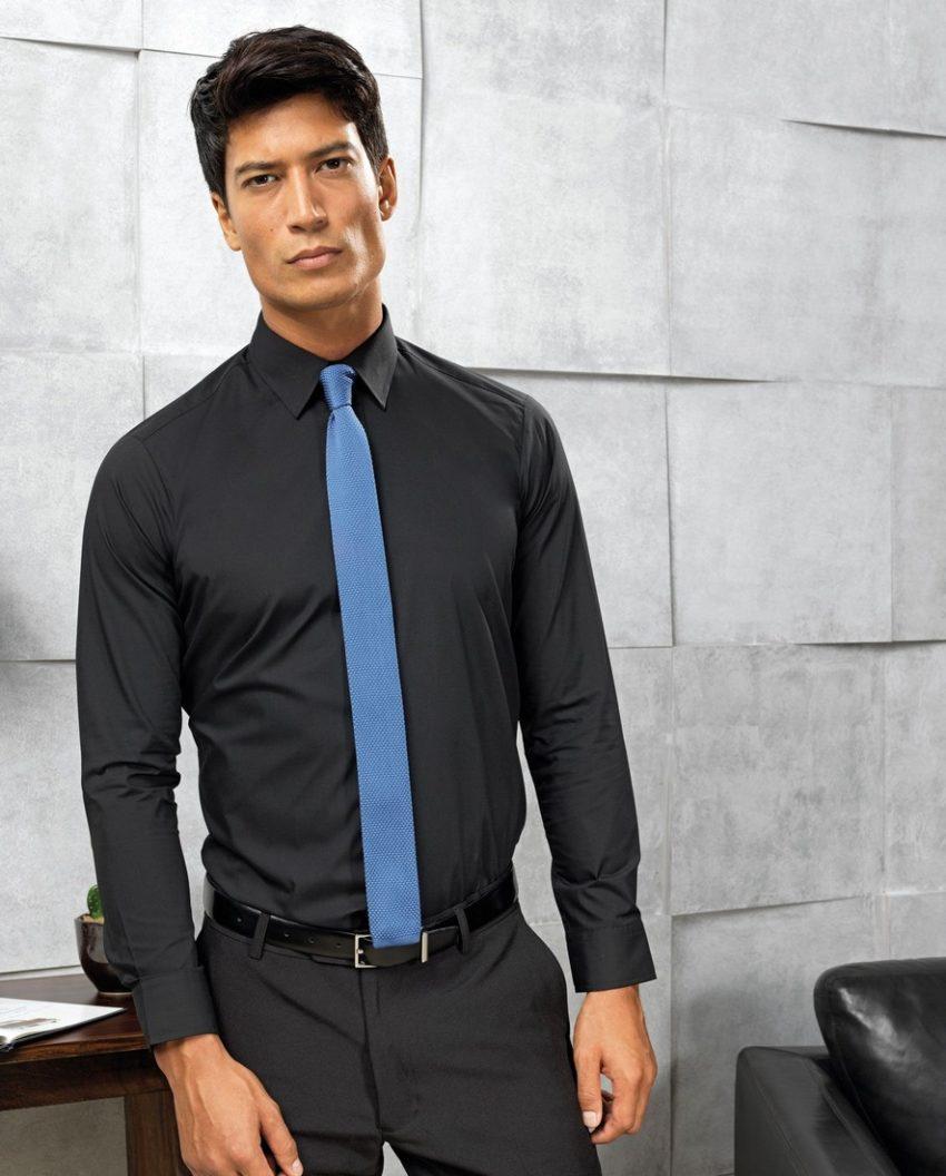 firemní kravaty modré