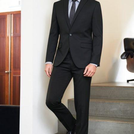 oblek pánský černý