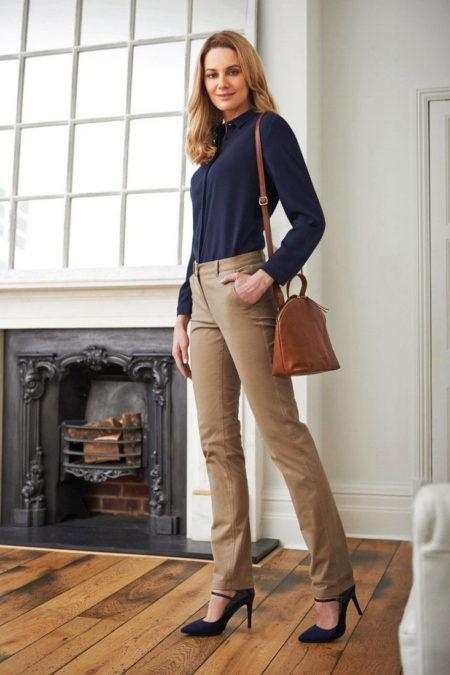 Pracovni kalhoty damske Chinos