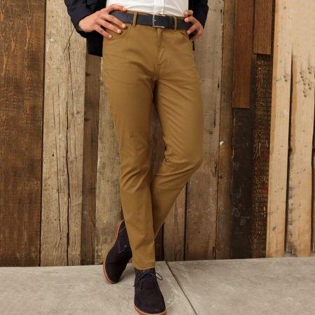 Pracovni kalhoty panske Chino jeans