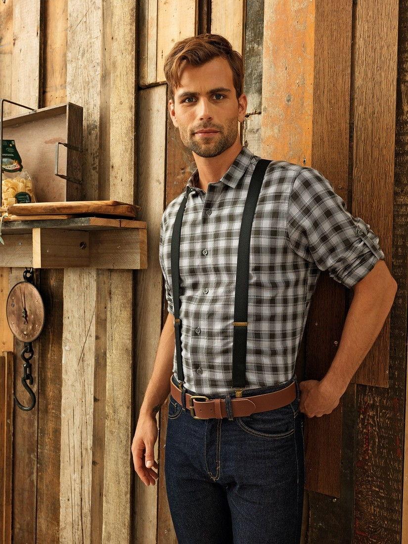 Pracovní košile pánská kostka