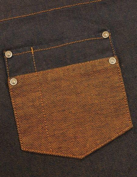 Pracovni zastera Vintage, detail