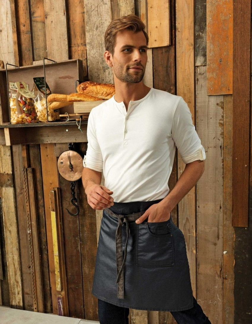 Pracovni zastera Vintage, jeans