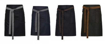 Pracovni zastery Vintage, jeans