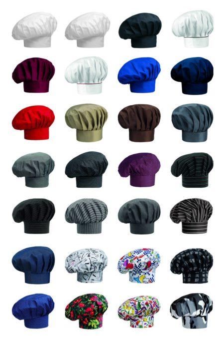 Čepice kuchařské