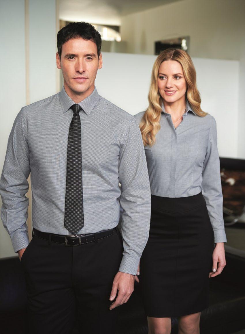 pánské a dámské košile a halenky