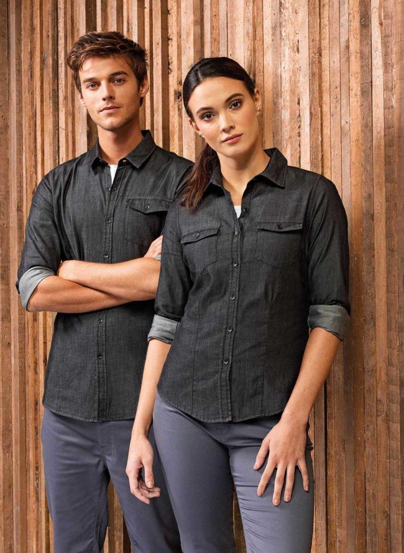 košile dámská džínová