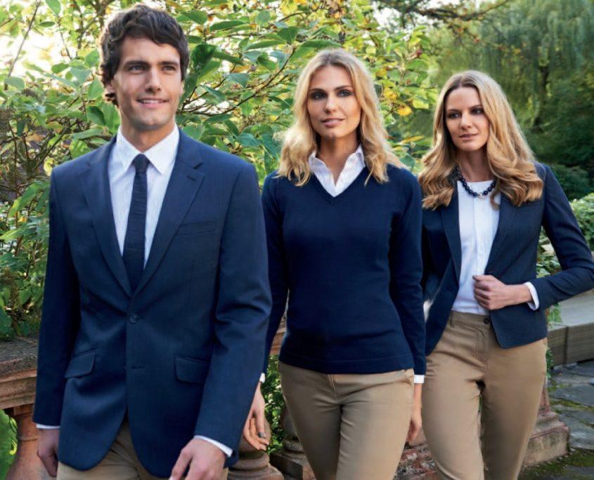 Uniformy a pracovní oděvy pro hotely