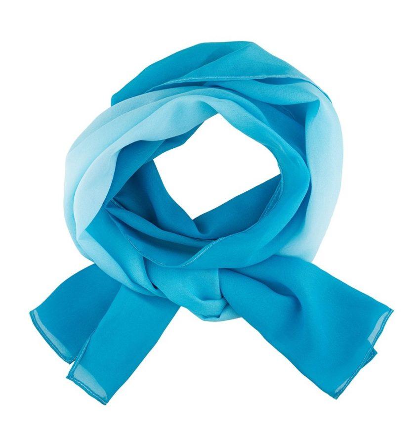 šátek dámský tyrkysový