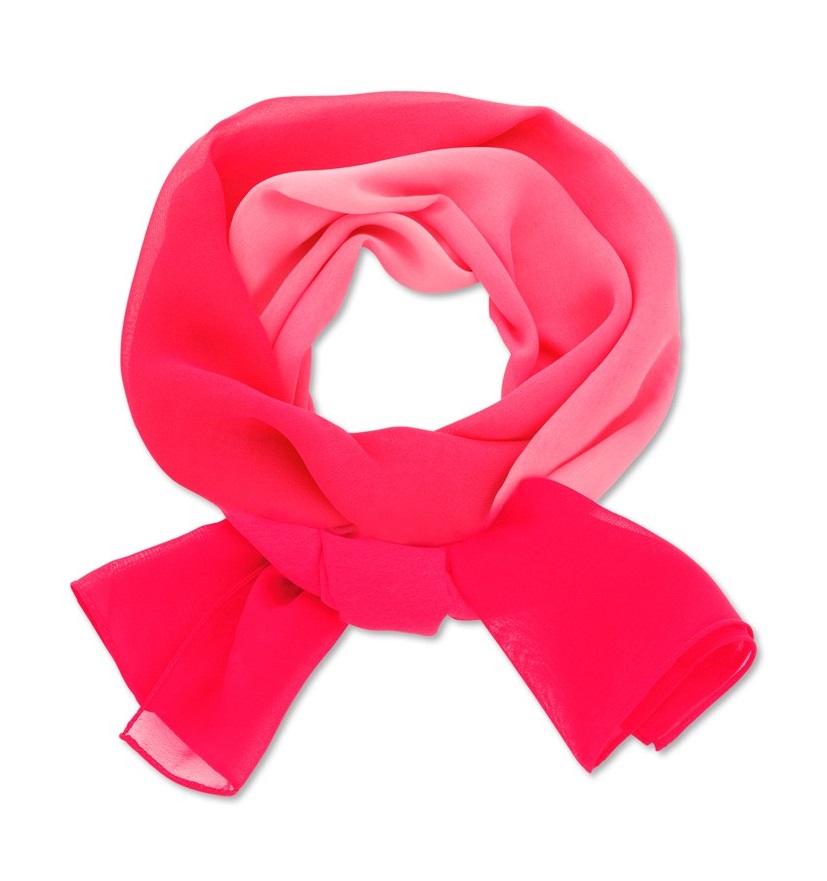 šátek dámský fuchsiový