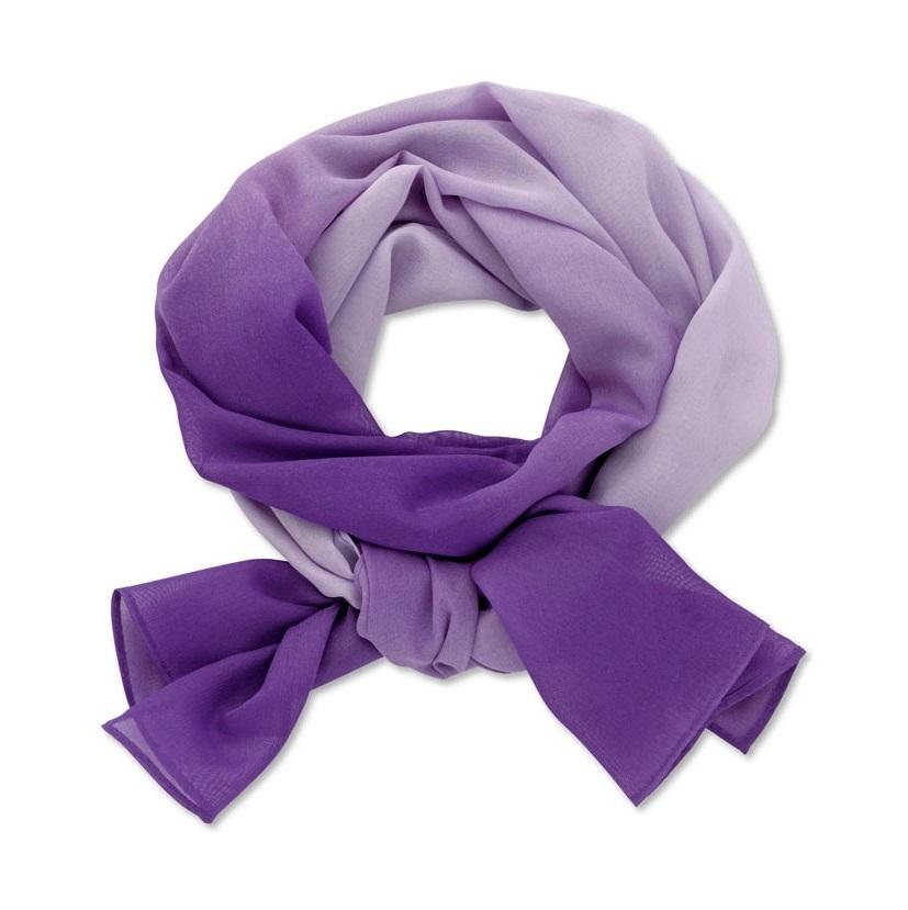 šátek dámský fialový lila