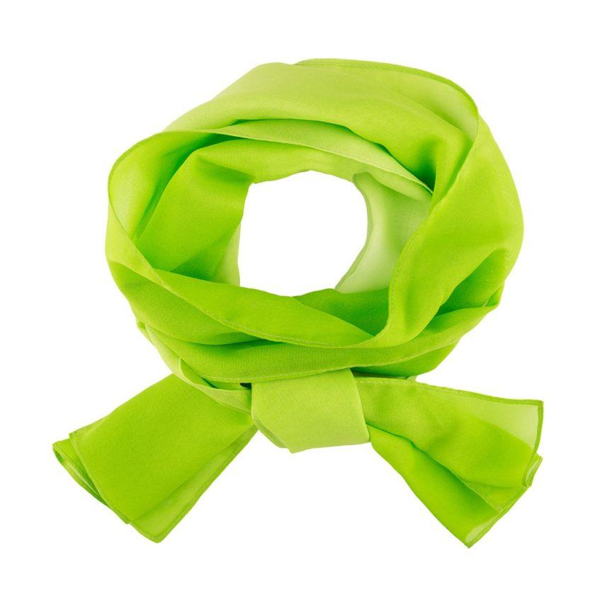 šátek dámský limetkový