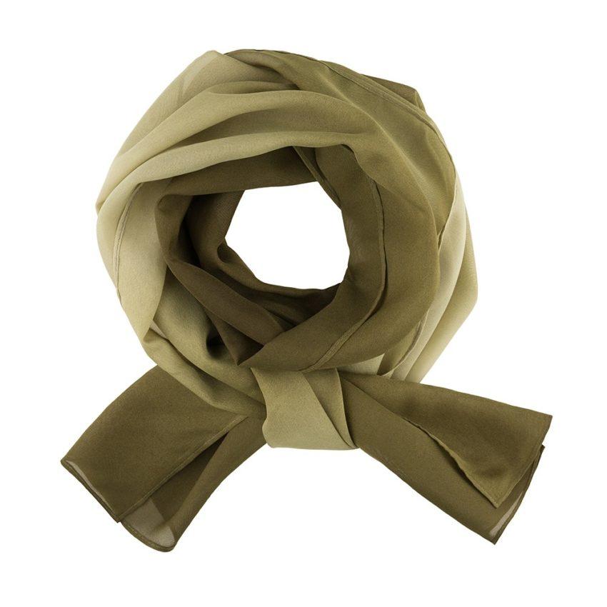 šátek dámský olivový