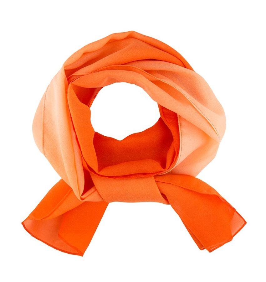 šátek dámský oranžový