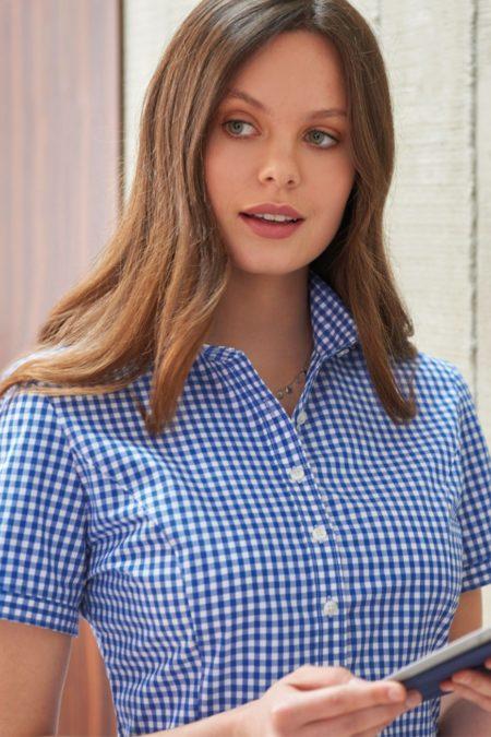 košile dámská kostkovaná
