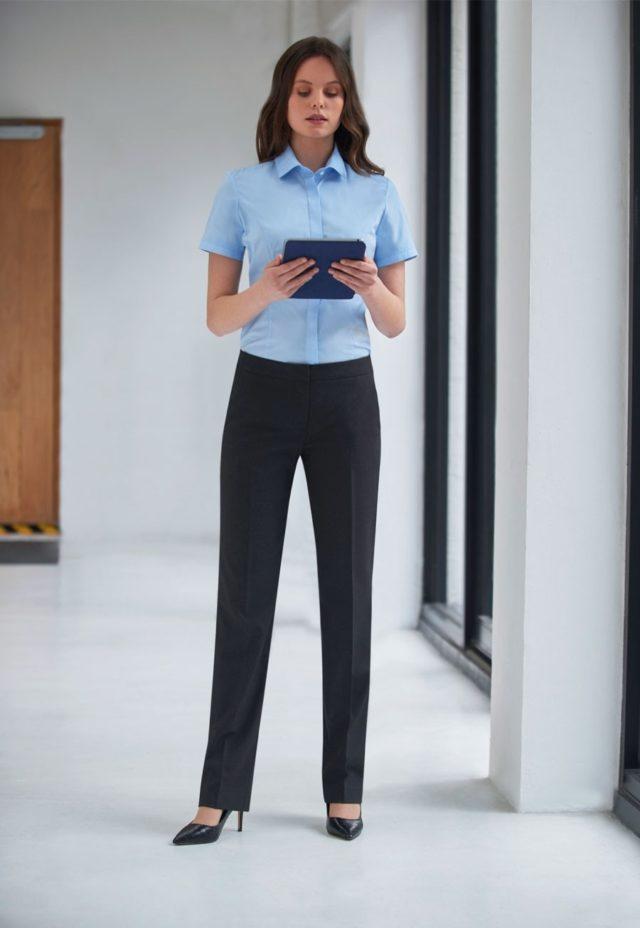 Kalhoty dámské módní úzký střih