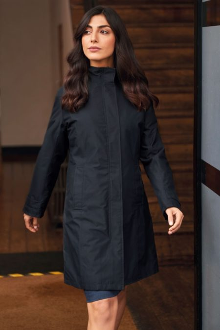 Kabát nepromokavý dámský se zapuštěnou kapucí