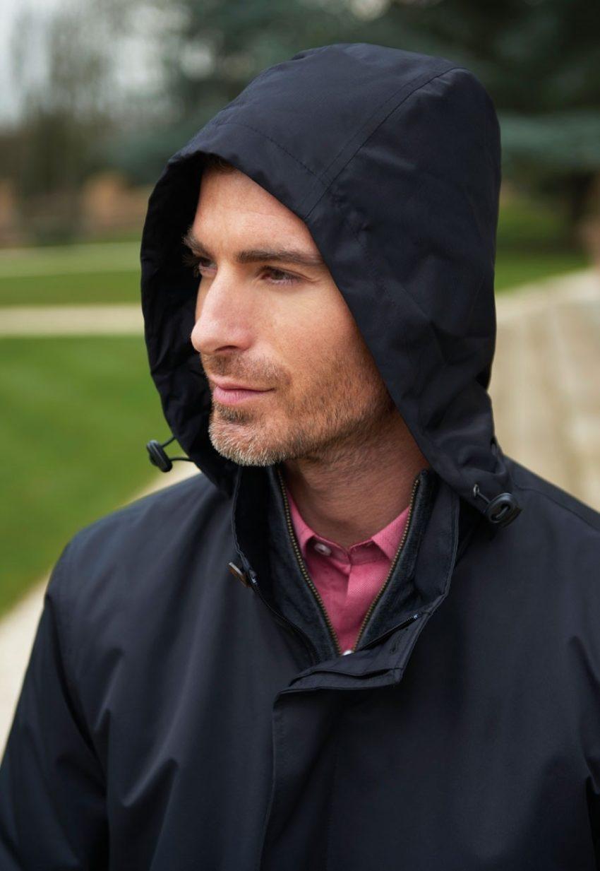 Kabát nepromokavý pánský módní