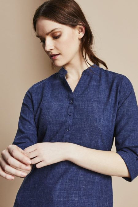 tunika dámská modrý melír