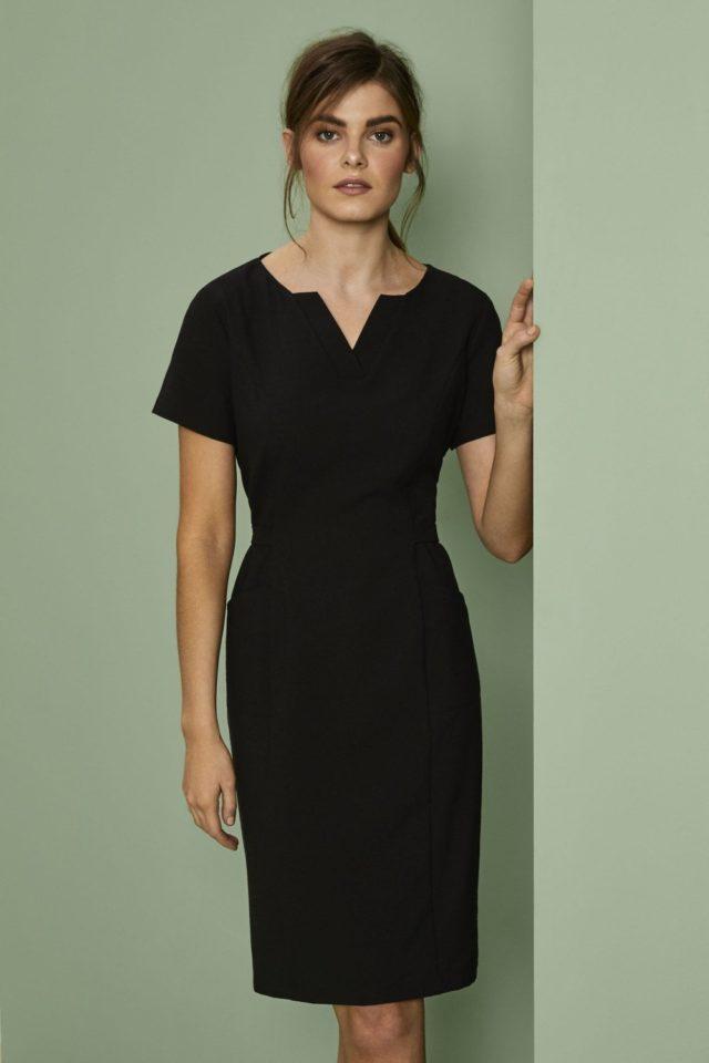 šaty pracovní dámské černé