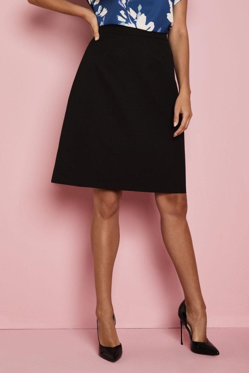 sukně dámská A styl černá