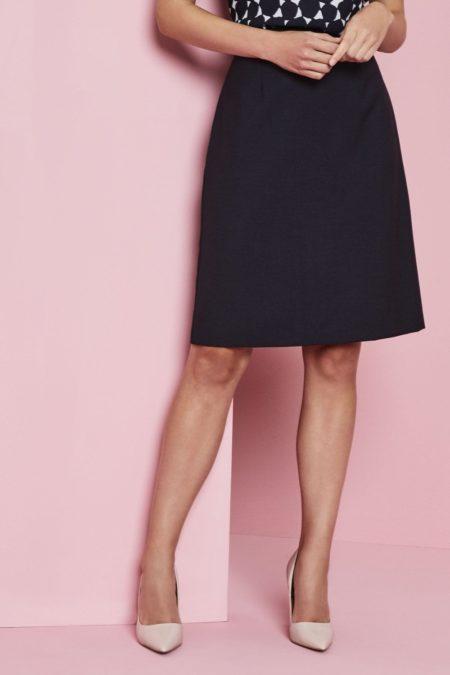 sukně dámská A styl modrá