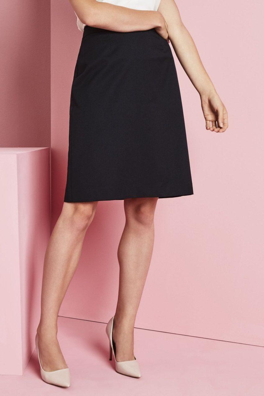 sukně dámská a styl tmavě modrý proužek