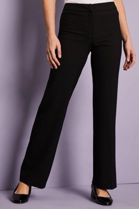 kalhoty pracovní dámské černé - wellness, SPA, lázeňský provoz