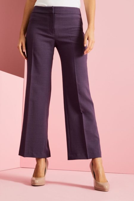 kalhoty dámské fialové - wellness, SPA, lázně