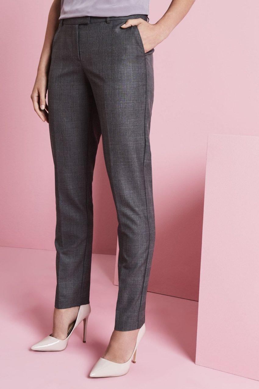 kalhoty dámské slim fit