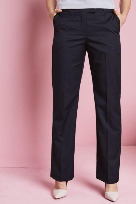 kalhoty dámské rovné proužek