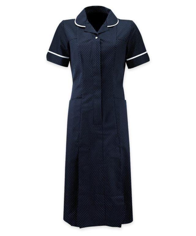 šaty pracovní tmavě modré