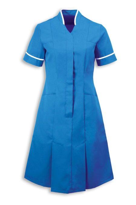pracovní šaty se stojáčkem