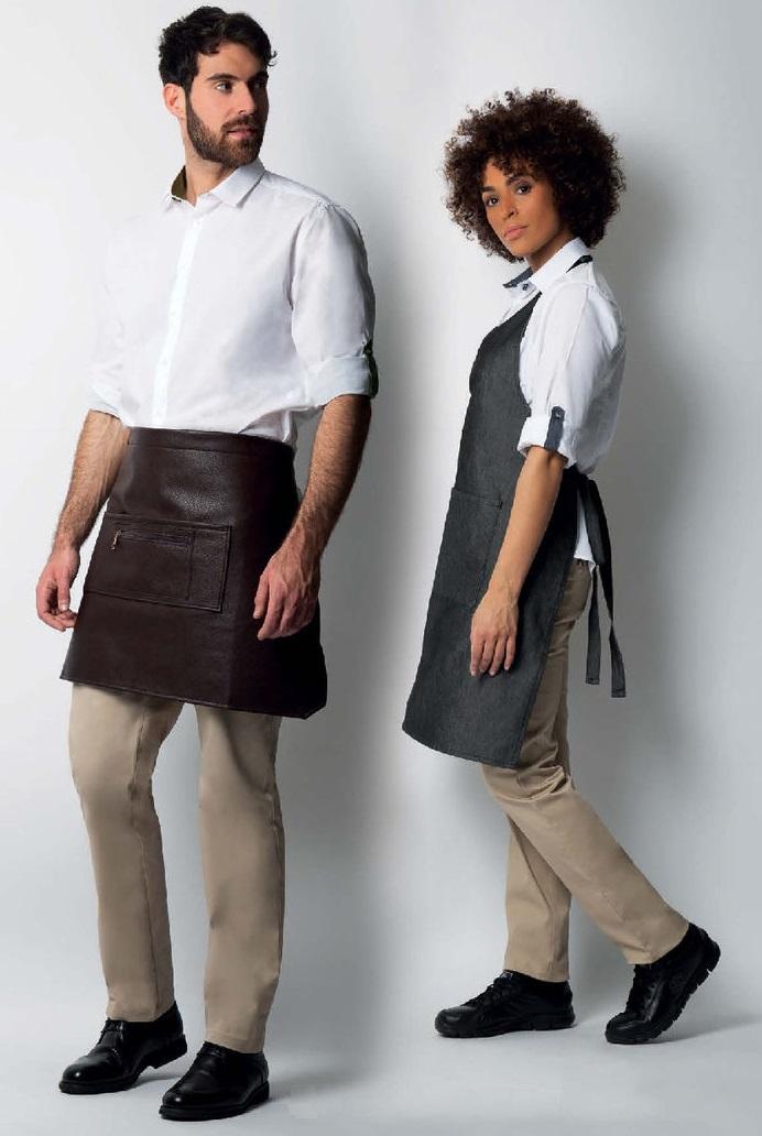 košile dámská a pánská rolovací rukávy