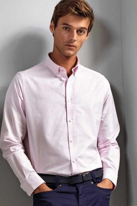 košile pánská proužek oxford