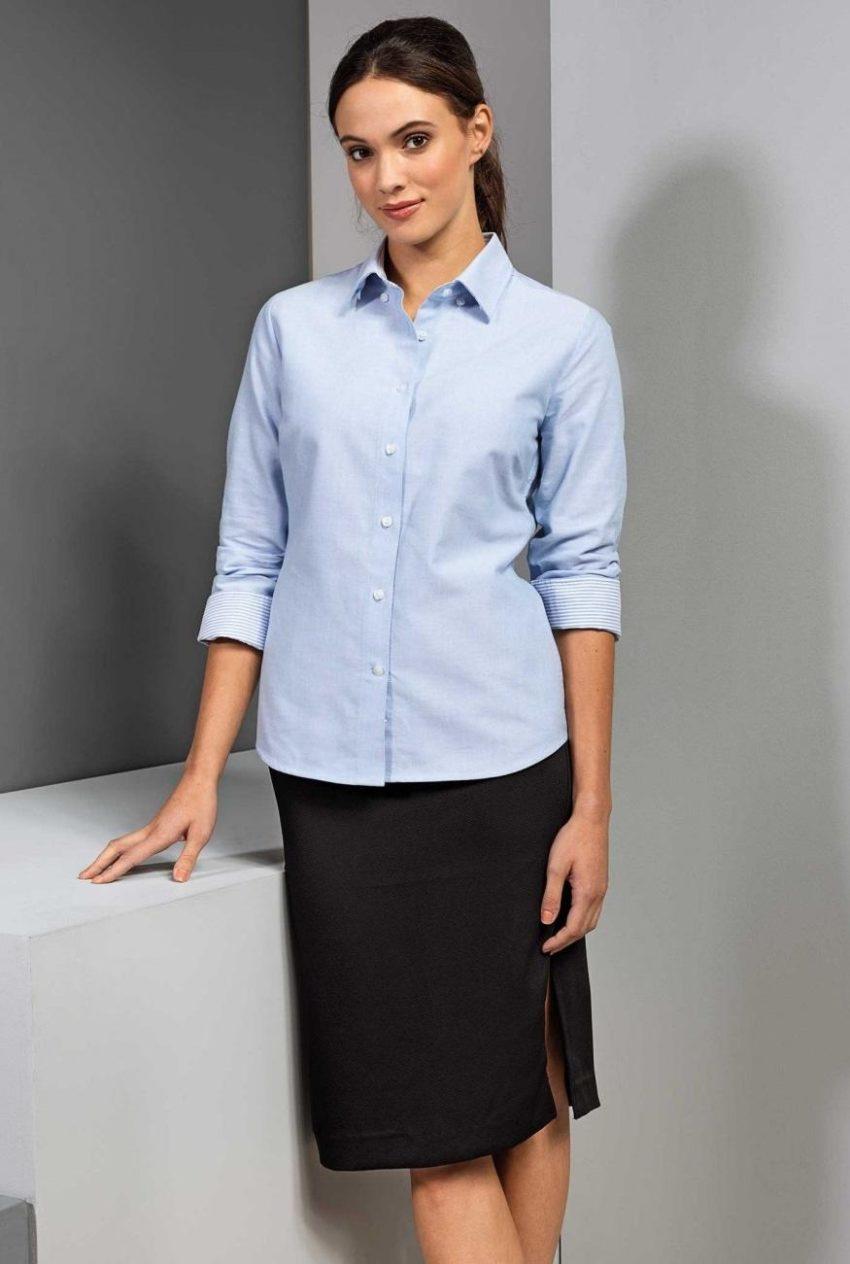 košile dámská oxford francouzské manžety