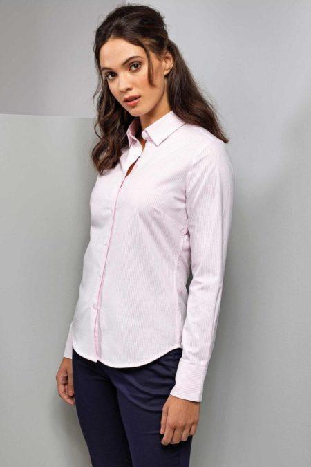 košile dámská Oxford proužek